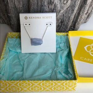 Kendra Scott Isla Necklace in Blue Lace
